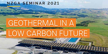 NZGA Seminar: Geothermal in a Low Carbon Future tickets