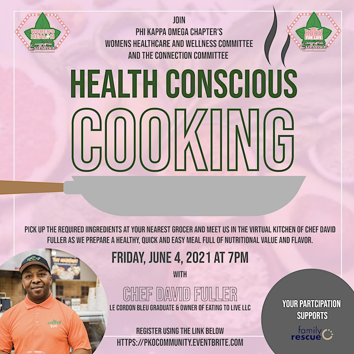 PKO's Health Conscious Cooking & Paint The Lakefront Pink image