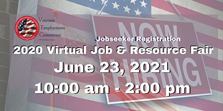 VEC's Annual (VIRTUAL) Job & Resource Fair - Jobseekers Registration tickets