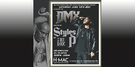 Tribute to DMX  hosted by Styles P of The Lox  at HMAC tickets