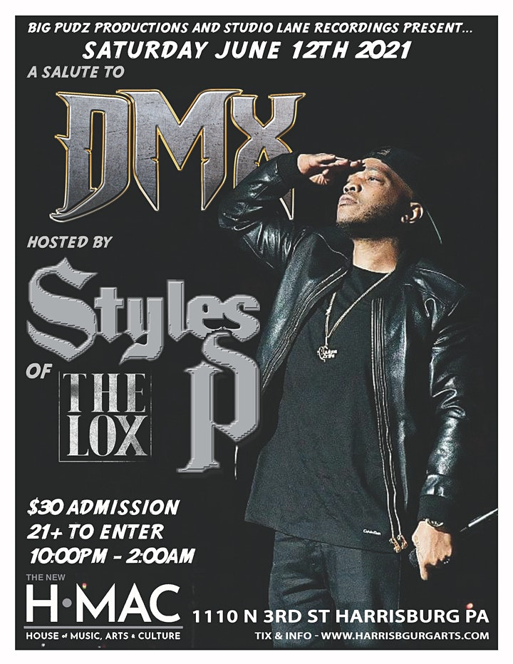 Tribute to DMX  hosted by Styles P of The Lox  at HMAC image