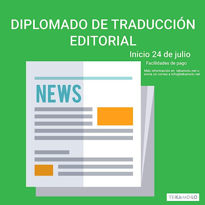 Imagen de Diplomado de Traducción Editorial