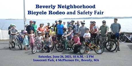 Beverly Neighborhood Bicycle Rodeo - Advance Registration Recommended tickets