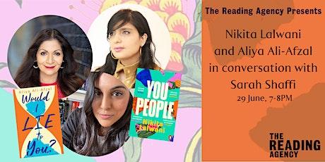 Nikita Lalwani and Aliya Ali-Afzal in conversation  with Sarah Shaffi tickets