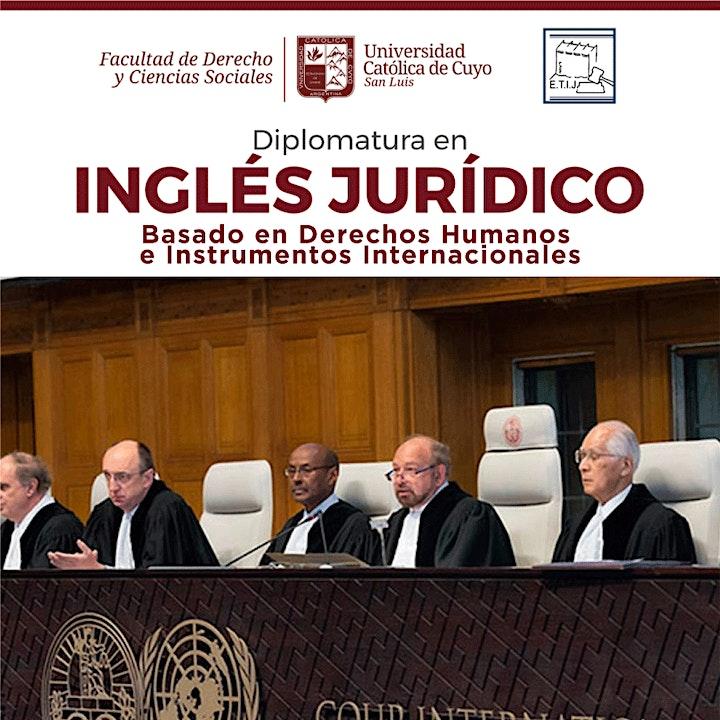 Imagen de Diplomatura en Inglés Jurídico 2021