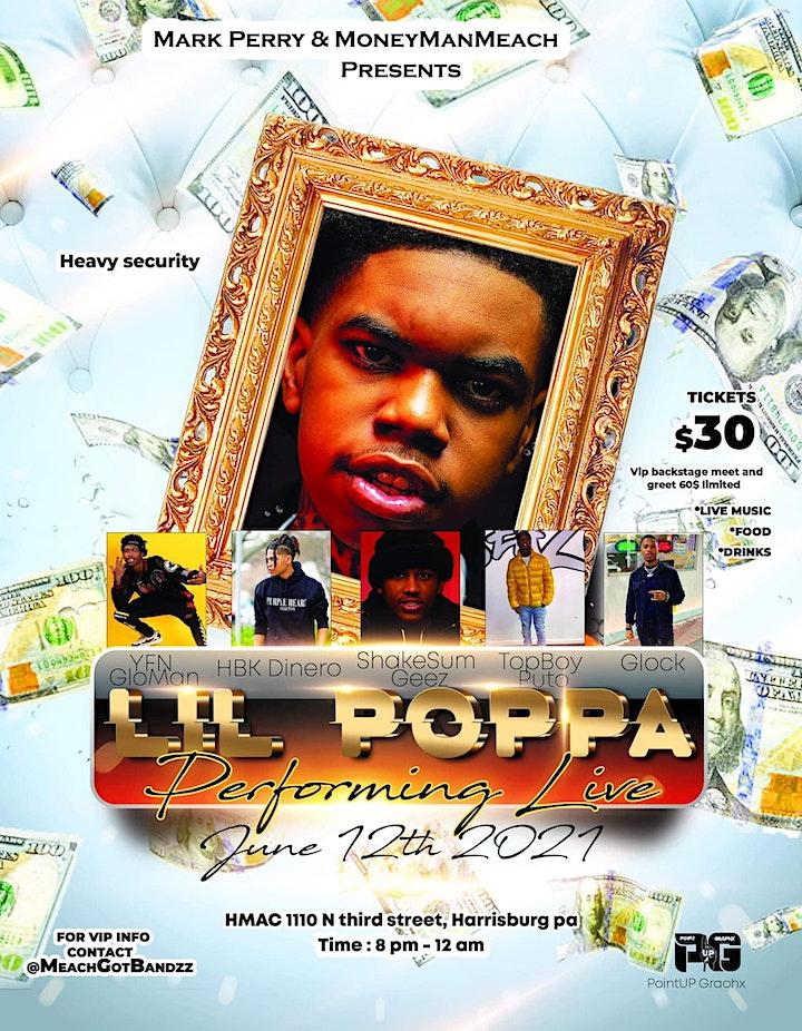 Lil Poppa at HMAC! image