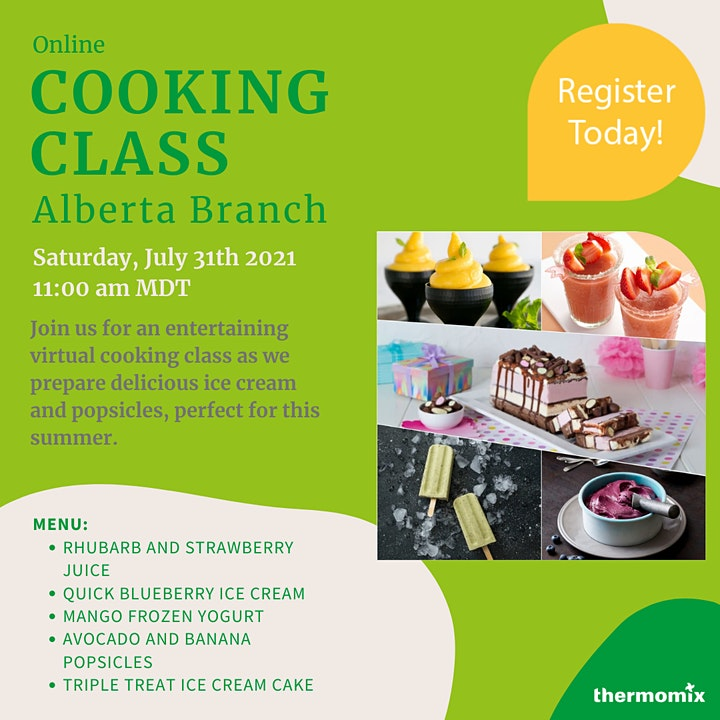 Thermomix®  Virtual Cooking Class: Ice cream & Popsicles Workshop image