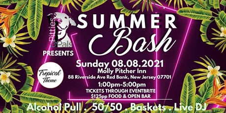 Pitties and Pals Summer Bash tickets
