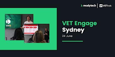 VETtrak VET Engage Sydney: Save the Date! tickets