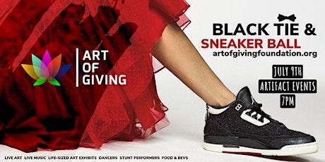 Art of Giving Black Tie & Sneaker Gala tickets