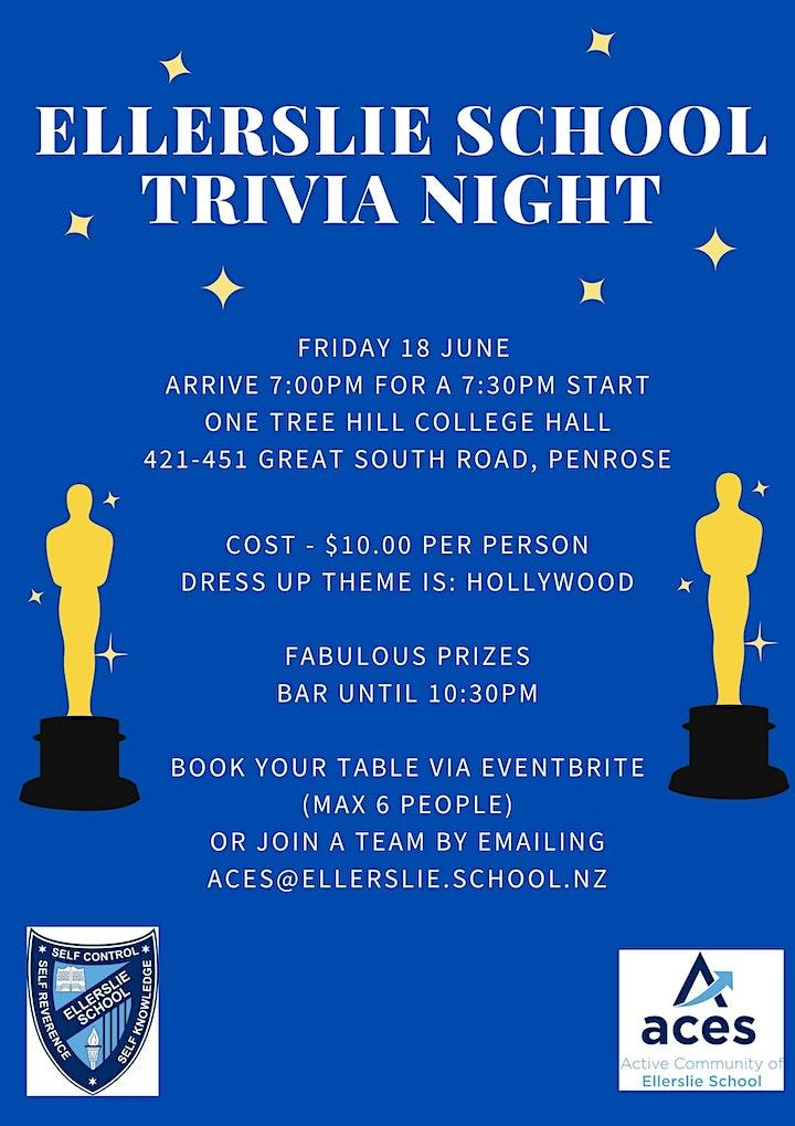 Ellerslie School Trivia Night image