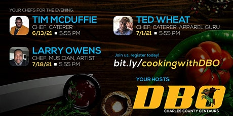 Cooking with DBO: Virtual IOTA Cooking Series featuring Ted Wheat tickets