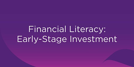 Financial Literacy: Early-Stage Investment - Rockhampton tickets