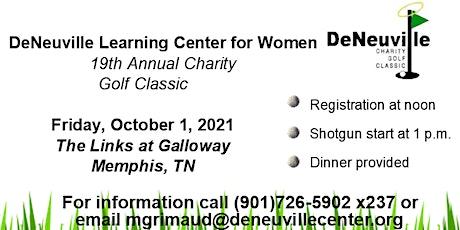 DeNeuville Charity Golf Classic 2021 tickets