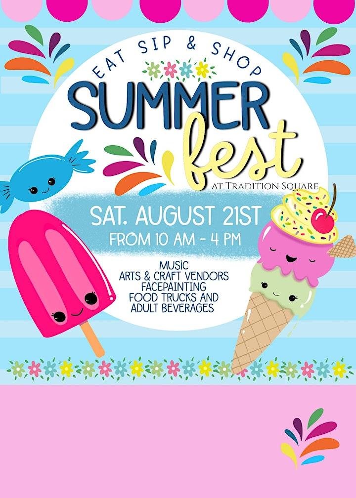 Eat, Sip & Shop Summer Fest image