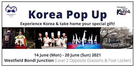 Korea Pop Up tickets