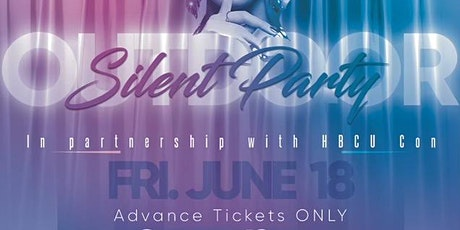 Outdoor Silent Party NC tickets