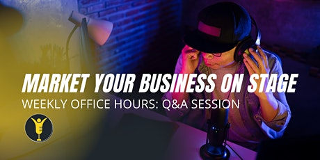 Setting Goals for Your Speaking Career: Office Hours with iFind You Close tickets