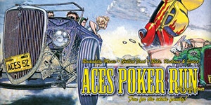 ACES Poker Run 2015 - Pre 1965 Rods, Customs and Cycles