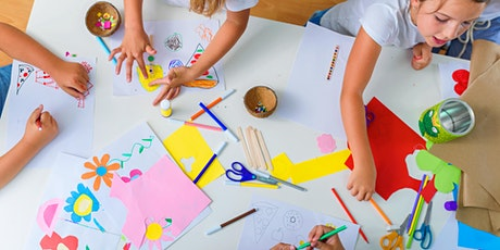 School holiday craft for kids - Kew Library tickets