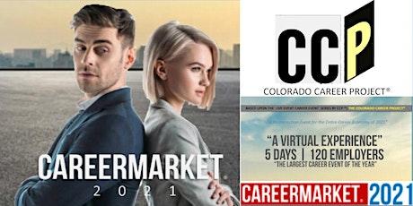 Colorado Regional Virtual Career Fair Superevent - June 21-25, 2021 tickets