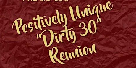 "PHS c/o '91 ""Dirty 30"" Class Reunion tickets"