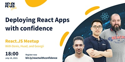 Deploying+React+Applications+with+confidence