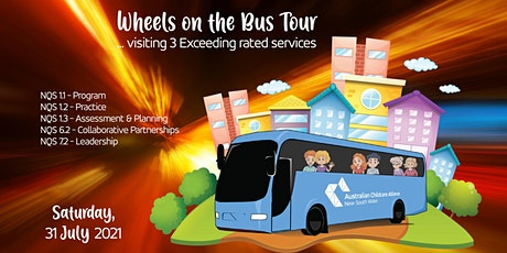 Wheels On The Bus Tour tickets