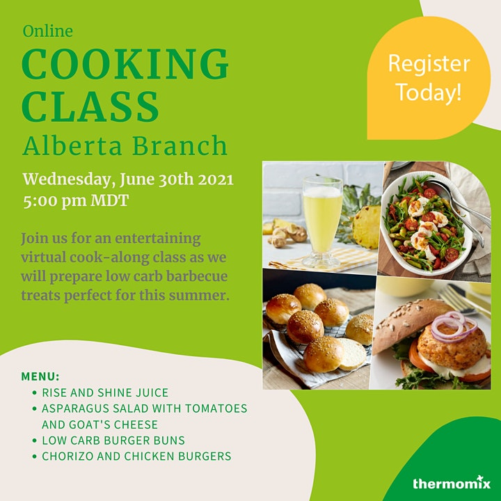 Thermomix® Virtual Cook-Along Class: Barbecue & Low Carb image