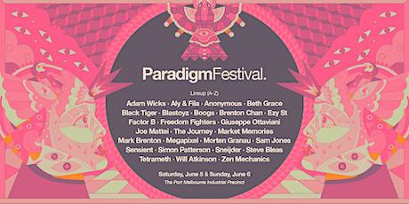 Paradigm Festival 2021 (Saturday) tickets