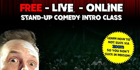 SF Comedy College  July Free Intro to Stand Up Comedy Class tickets