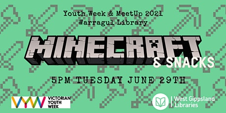 Minecraft Party @ Warragul Library - School Holiday activity tickets