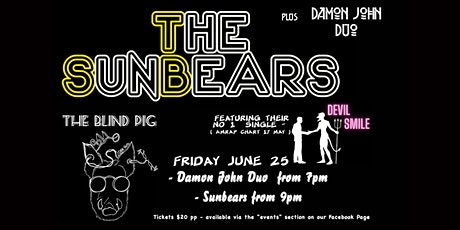 The Sunbears + Damon John Duo -  Live @ The Blind Pig Orange tickets