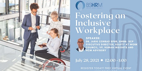 Harnessing Humanity's Survival Instinct & Foster Inclusion in the Workplace tickets