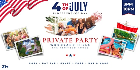 4th of July Private Pool Party tickets