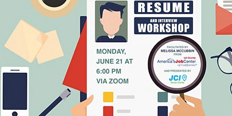 Resume Writing & Interview Workshop with Melissa McCubbin of AJCC tickets