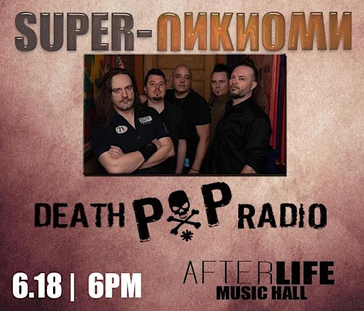 Super-UnKnown • Death Pop Radio at BrauerHouse Lombard image