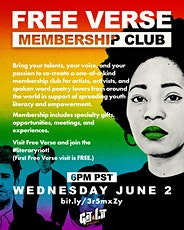 Free Verse Membership Club tickets