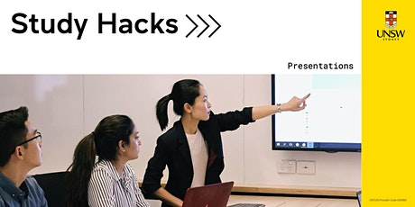 Study Hacks: Presentations tickets