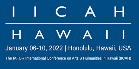 The IAFOR International Conference on Arts & Humanities in Hawaii tickets