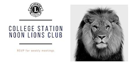 CSNL Weekly Meeting RSVP tickets