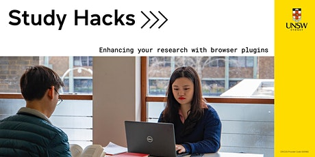 Study Hacks: Enhancing your research with browser plugins tickets