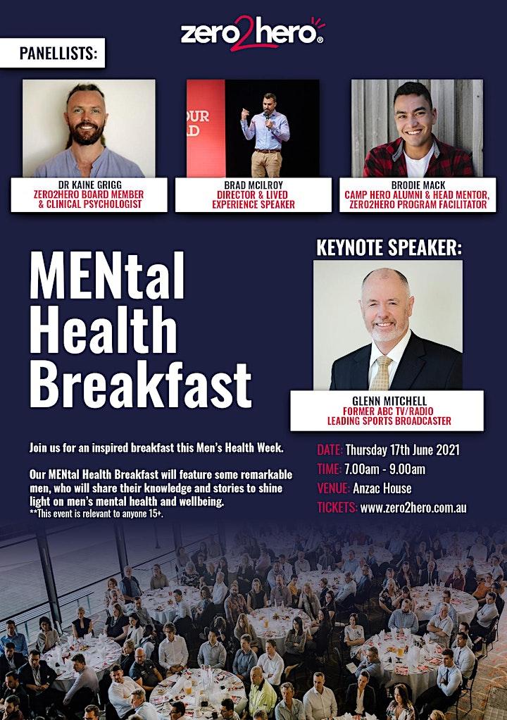 zero2hero MENtal Health Breakfast image