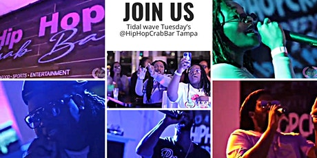 Tidal Wave Tuesday's @HipHopCrabBar Tampa tickets