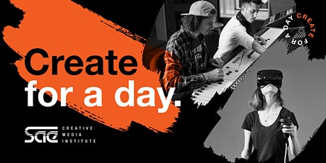 SAE Create for a Day Workshops   Melbourne tickets