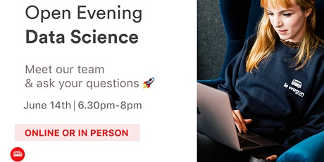 [IN PERSON OR ONLINE] Data Science Bootcamp: Open Evening tickets
