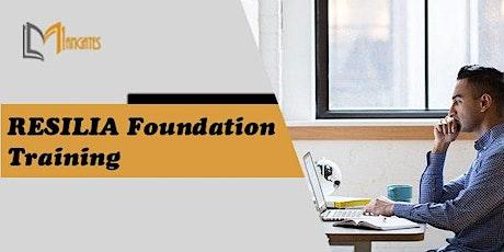 RESILIA Foundation 3 Days Virtual Live Training in Singapore tickets