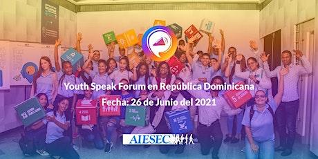Youth Speak Forum - República Dominicana entradas
