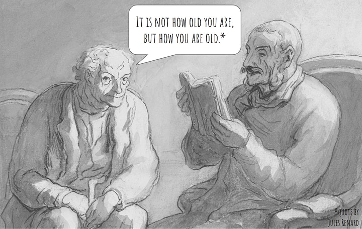 Graphic Medicine Series: Drawing Attention to Our Aging Body Language image