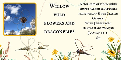 Willow Dragonflies and Flowers tickets